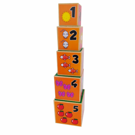 CUBOS APILABLES ANIMALES cod 827