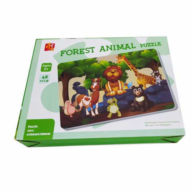 PUZZLE FOREST ANIMAL COD L302