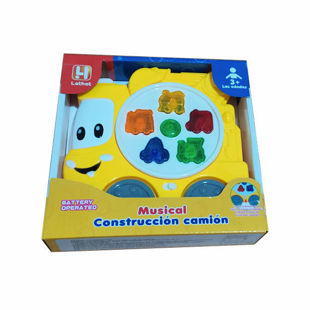 CAMION CONSTRUCTOR MUSICAL COD 0184