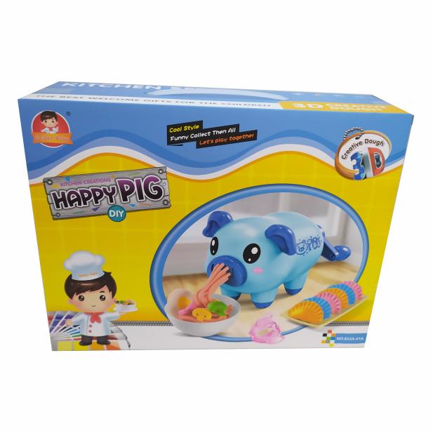 PLASTILINA HAPPY PIG CELESTE COD A51A